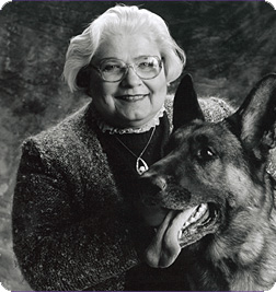 Ruth Foster and friend.